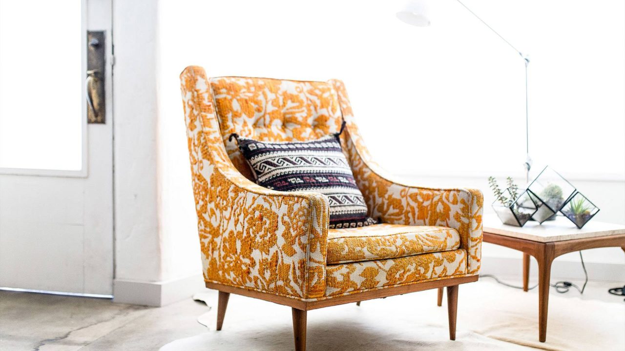How to replace fabric on your armchair