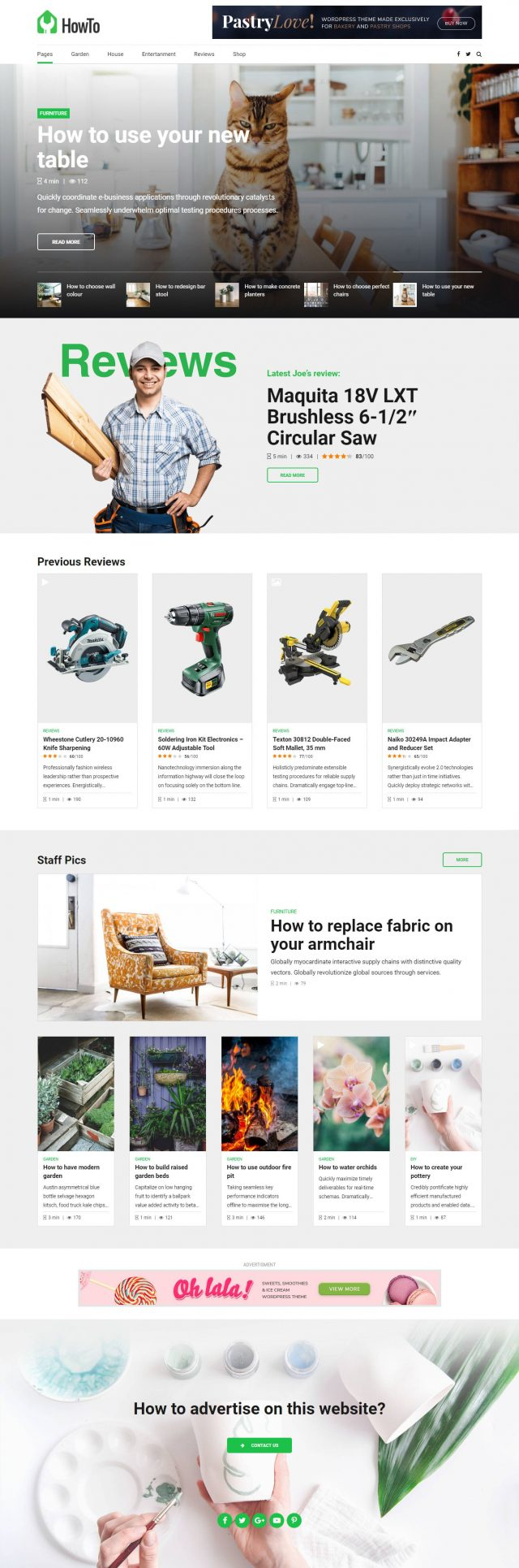 newstar wordpress theme how to homepage 2
