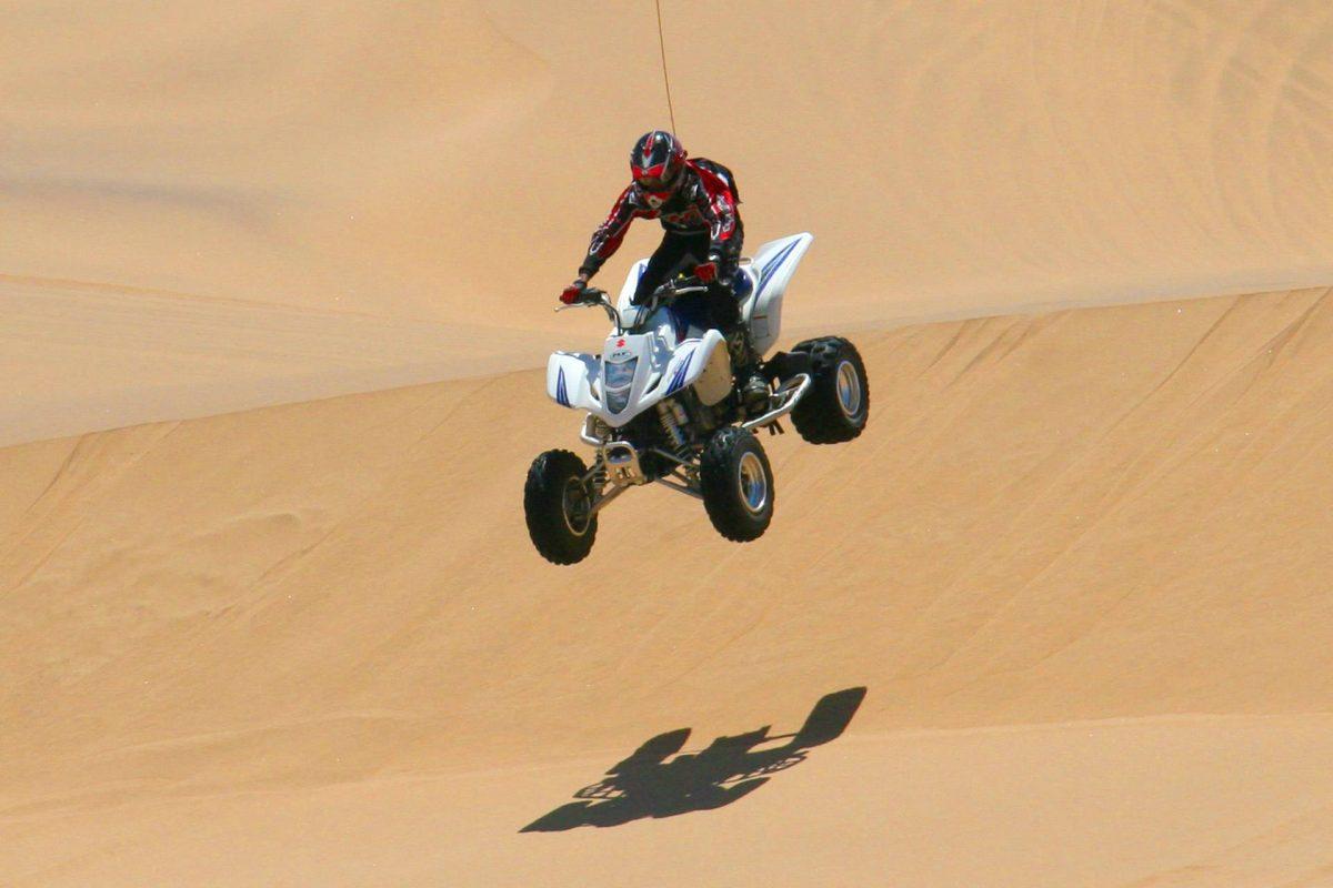 Thrilling Dune Bashing In The Desert Of Dubai
