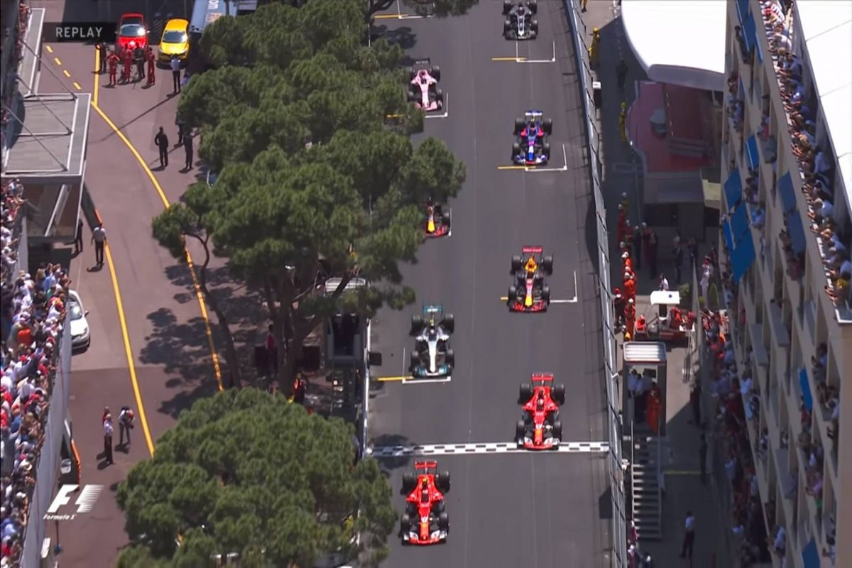 2017 Monaco Grand Prix Race Hightlights
