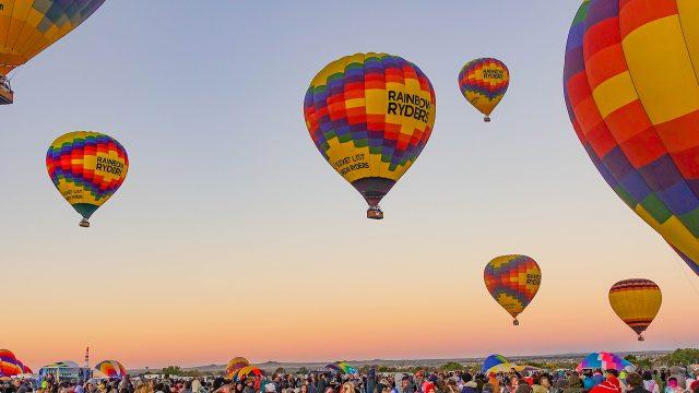 The Great Smoky Mountain Hot Air Ballon Festival