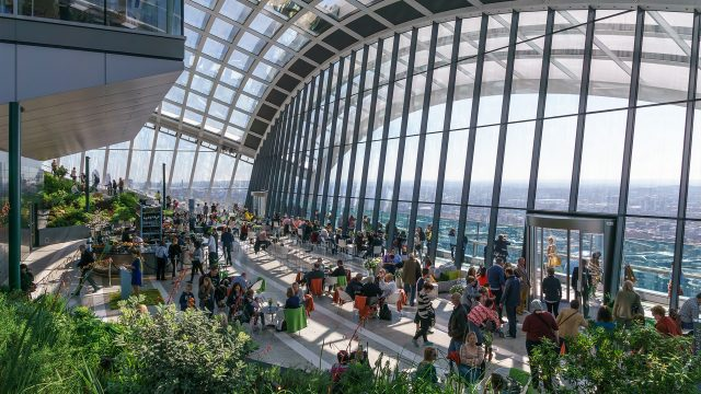 Admire the View From the Sky Garden in London