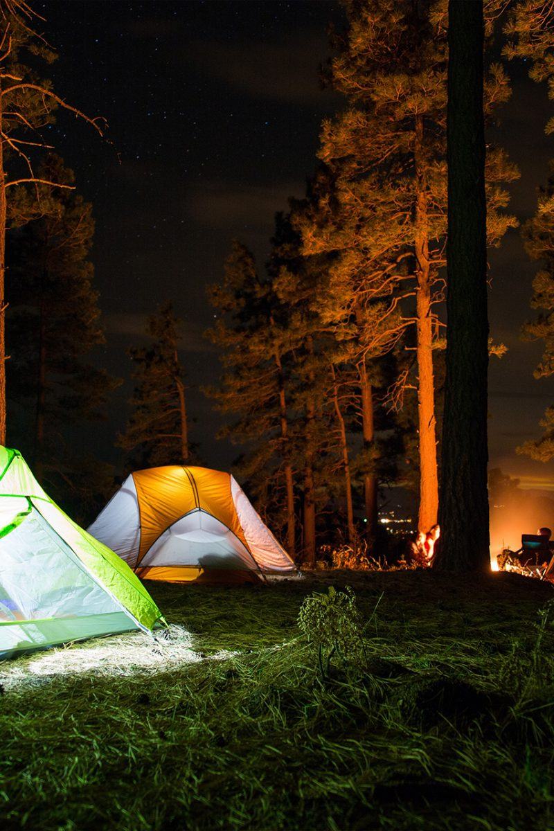 Weekend 1440 Project-Campsites At Night